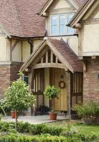 110 Beautiful Farmhouse Porch Decor Ideas (73)