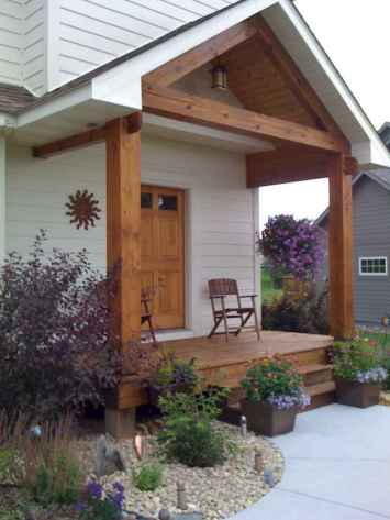 110 Beautiful Farmhouse Porch Decor Ideas (82)