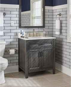 110 Fabulous Farmhouse Bathroom Decor Ideas (111)
