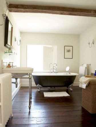110 Fabulous Farmhouse Bathroom Decor Ideas (13)