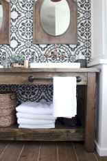 110 Fabulous Farmhouse Bathroom Decor Ideas (42)