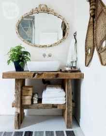 110 Fabulous Farmhouse Bathroom Decor Ideas (44)