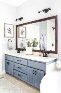 110 Fabulous Farmhouse Bathroom Decor Ideas (7)