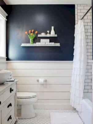 110 Fabulous Farmhouse Bathroom Decor Ideas (90)