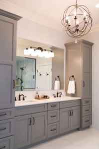 50 Amazing Farmhouse Bathroom Vanity Decor Ideas (11)