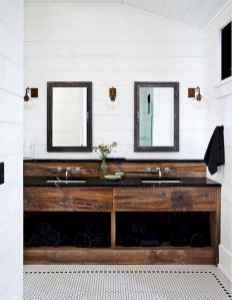 50 Amazing Farmhouse Bathroom Vanity Decor Ideas (18)