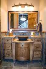 50 Amazing Farmhouse Bathroom Vanity Decor Ideas (33)