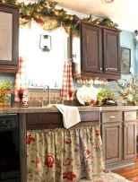 70 Pretty Farmhouse Kitchen Curtains Decor Ideas (48)