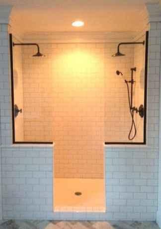 80 Cool Farmhouse Tile Shower Ideas Remodel (25)