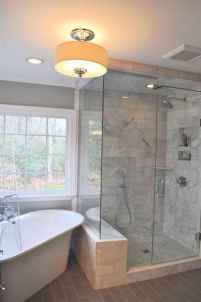 80 Cool Farmhouse Tile Shower Ideas Remodel (5)