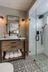 80 Cool Farmhouse Tile Shower Ideas Remodel (67)