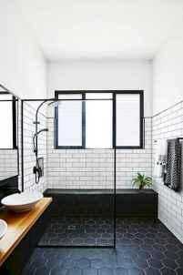 80 Cool Farmhouse Tile Shower Ideas Remodel (7)