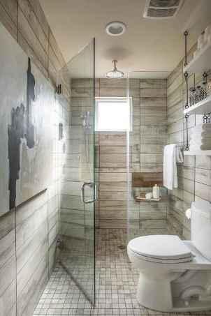 80 Cool Farmhouse Tile Shower Ideas Remodel (70)