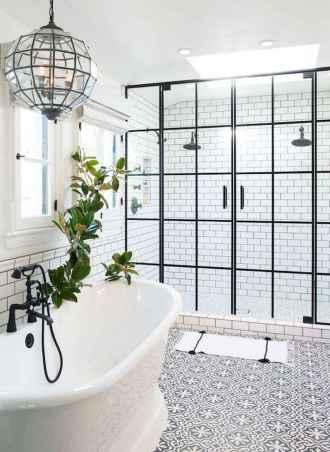 80 Cool Farmhouse Tile Shower Ideas Remodel (71)