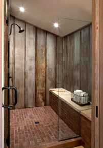 80 Cool Farmhouse Tile Shower Ideas Remodel (78)