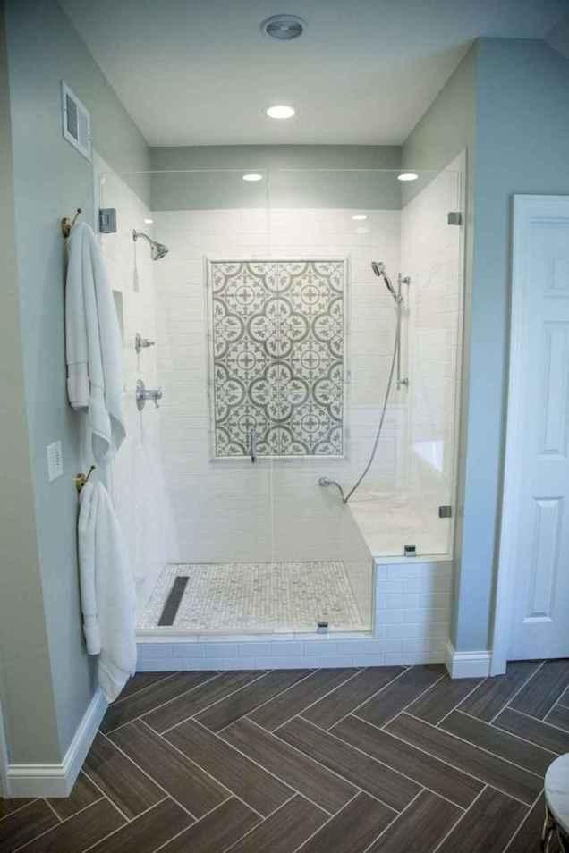 80 Cool Farmhouse Tile Shower Ideas Remodel (83)