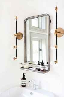 90 Awesome Lamp For Farmhouse Bathroom Lighting Ideas (122)