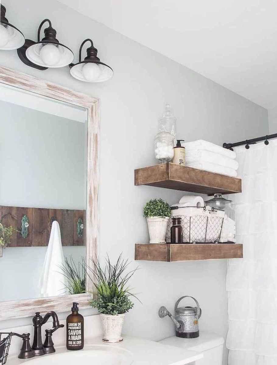 90 Awesome Lamp For Farmhouse Bathroom Lighting Ideas (144)