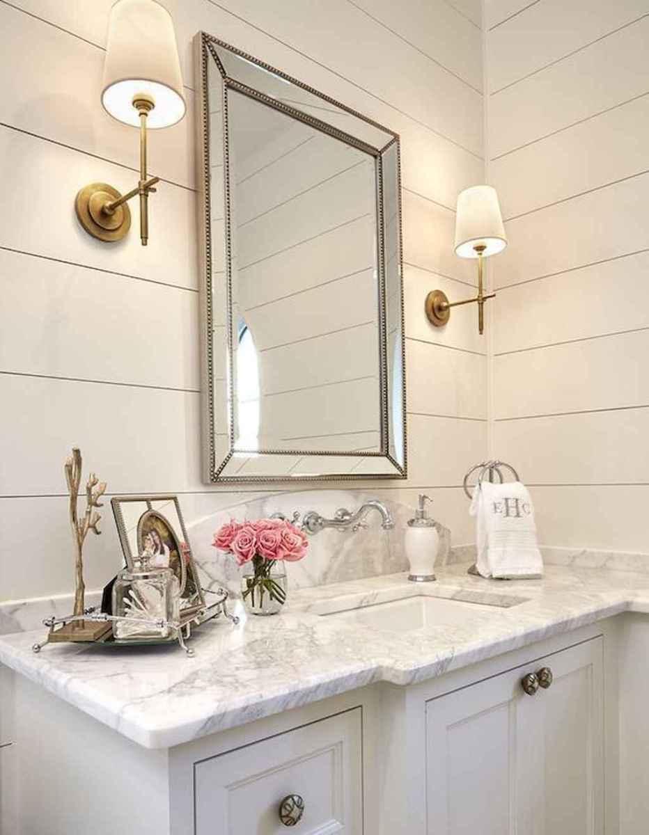 90 Awesome Lamp For Farmhouse Bathroom Lighting Ideas (78)