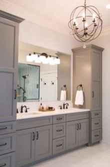 90 Awesome Lamp For Farmhouse Bathroom Lighting Ideas (81)