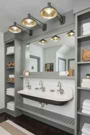 90 Awesome Lamp For Farmhouse Bathroom Lighting Ideas (95)