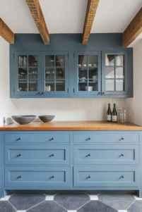 90 Best Farmhouse Kitchen Cabinet Design Ideas (40)