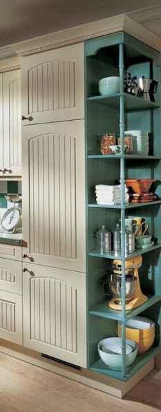 90 Best Farmhouse Kitchen Cabinet Design Ideas (47)