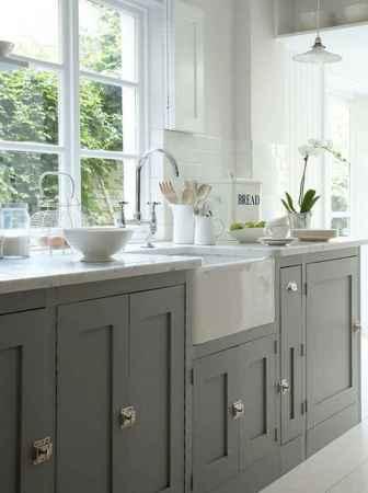 90 Best Farmhouse Kitchen Cabinet Design Ideas (60)