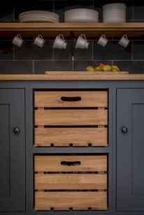 90 Best Farmhouse Kitchen Cabinet Design Ideas (65)