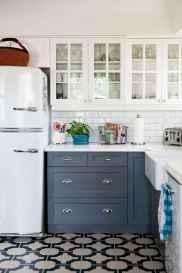 90 Best Farmhouse Kitchen Cabinet Design Ideas (79)