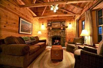 25 Cabin Living Room Ideas Decor (14)