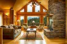 25 Cabin Living Room Ideas Decor (16)