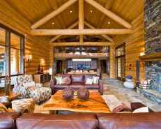 25 Cabin Living Room Ideas Decor (2)