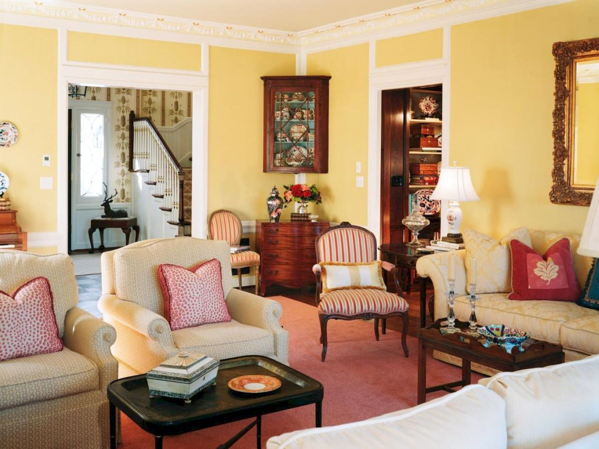 25 Country Style Living Room Ideas Decorations (1)