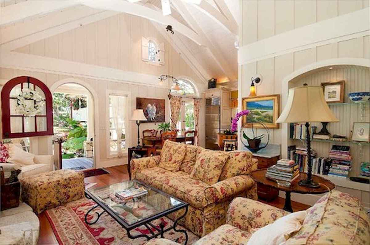 25 Country Style Living Room Ideas Decorations (24)