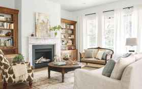 25 Country Style Living Room Ideas Decorations (7)