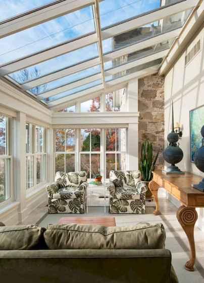 35 Best Farmhouse Sunroom Decor Ideas and Remodel (21)