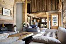 35 Chalet Living Room Decor Ideas (11)