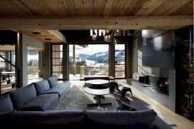 35 Chalet Living Room Decor Ideas (18)