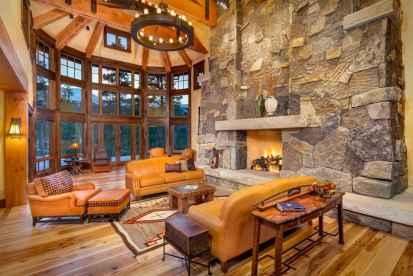 35 Chalet Living Room Decor Ideas (22)