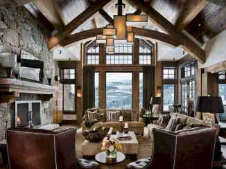 35 Chalet Living Room Decor Ideas (7)