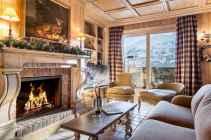 35 Chalet Living Room Decor Ideas (9)