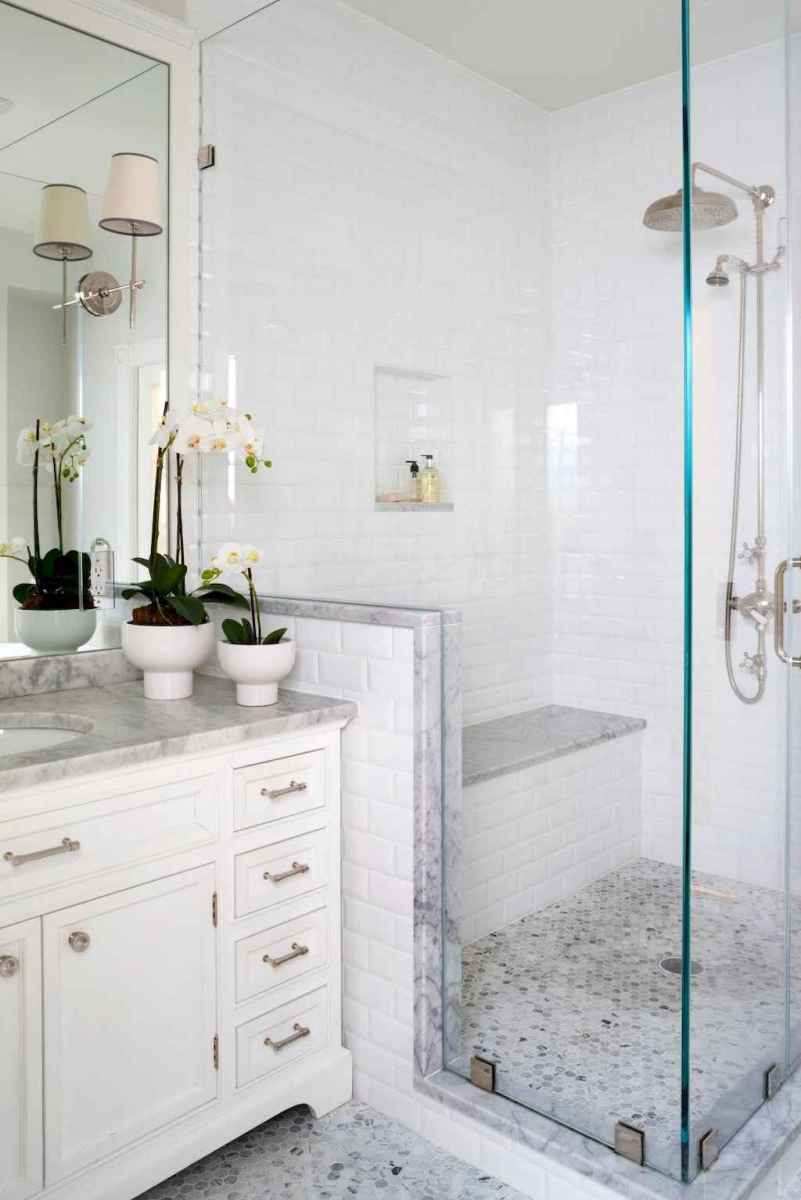 40 Beautiful Bathroom Shower Tile Design Ideas and Makeover (1)