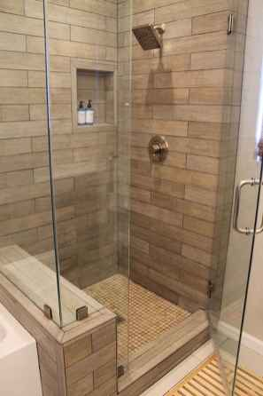 40 Beautiful Bathroom Shower Tile Design Ideas and Makeover (13)