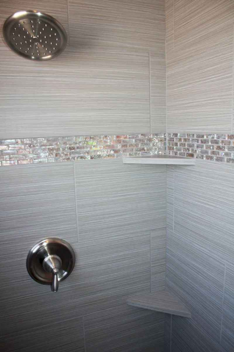 40 Beautiful Bathroom Shower Tile Design Ideas and Makeover (19)