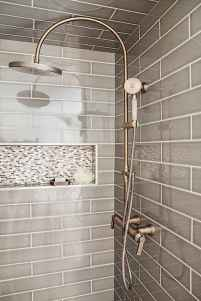 40 Beautiful Bathroom Shower Tile Design Ideas and Makeover (20)