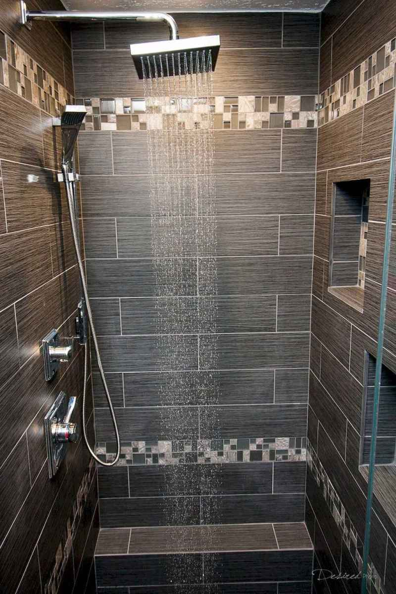 40 Beautiful Bathroom Shower Tile Design Ideas and Makeover (21)