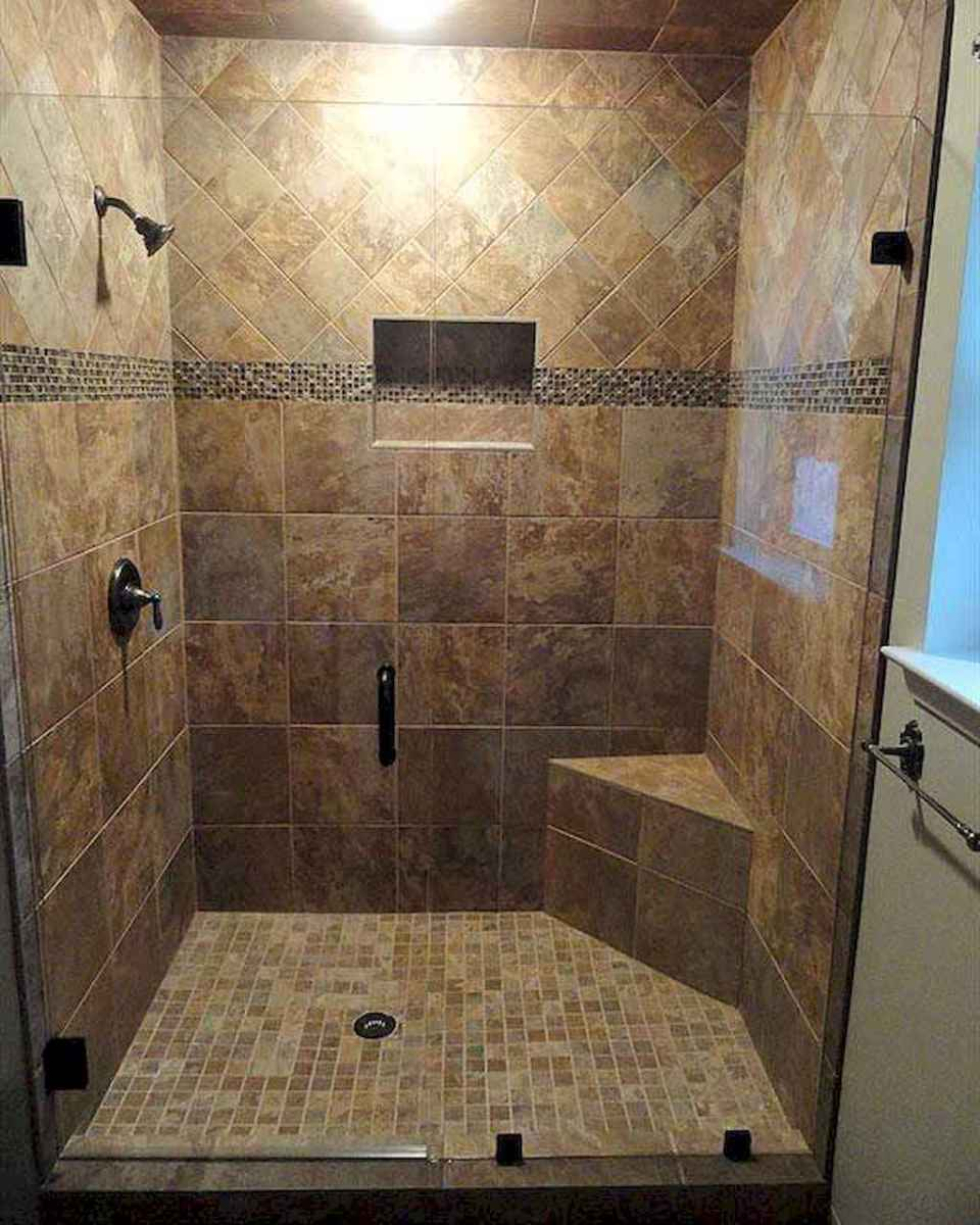40 Beautiful Bathroom Shower Tile Design Ideas and Makeover (3)