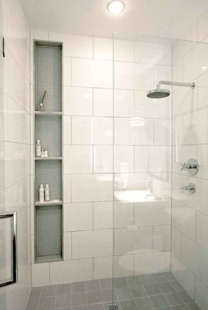40 Beautiful Bathroom Shower Tile Design Ideas and Makeover (31)