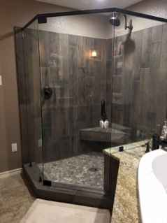 40 Beautiful Bathroom Shower Tile Design Ideas and Makeover (7)